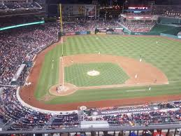Nats Stadium Seating Chart Views Nationals Park Section 317 Row L A View From My Seat