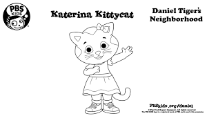 Free hello kitty coloring pages for you to color online, or print out and use crayons, markers, and paints. Katerina Kittycat Coloring Page Kids Coloring Pbs Kids For Parents