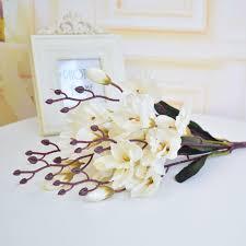 Zijde Yulan Magnolia Kunstbloem Boeketten Voor Bruiloft Thuis Tafel