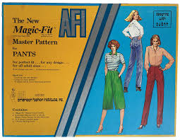 Design Own Pants Amazon Com The New A F I Magic Fit Master Pattern For Pants