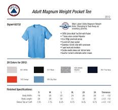 Magnum Size Chart Delta Pro Weight Shirt Size Chart Best Picture Of Chart