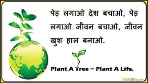 save trees slogans in hindi पेड़ लगाओ पेड़ बचाओ save trees slogans in hindi