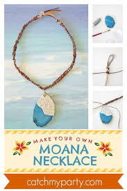 how to make a wonderful moana necklace diy