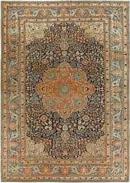 antique persian mohtashem kashan rug bb6834