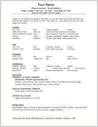 Best     Acting resume template ideas on Pinterest   Resume     Peppapp