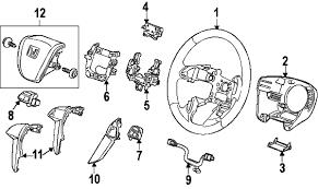 parts com® honda odyssey steering column assembly oem parts 2011 honda odyssey touring elite v6 3 5 liter gas steering column assembly