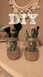 mason jar makeup brush holder. jmc creations: diy: makeup brush holder!!! | home decor pinterest diy brush, holders and mason jar holder e