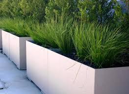 garden and lawn concrete garden planters lightweight outdoor large concrete planter boxes