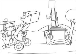 Small Picture Bob Needs Lofty And Scoop To Help His Job coloring page Free