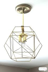 geometric ceiling light you could spend hundreds of dollars on a globe pendant or gold canada ceiling lights gold geometric