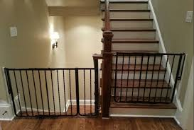 Retractable Baby Gates For Stairs With Railings, Baby Gates For ...