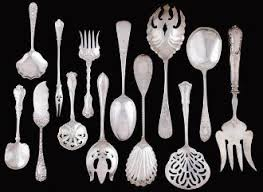 Silver Pattern Impressive Sterling Flatware Pattern Index