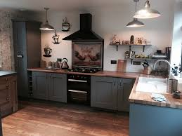 Fitted Kitchen Dust Grey Shaker Fitted Kitchen In Quarry Bank West Midlands The