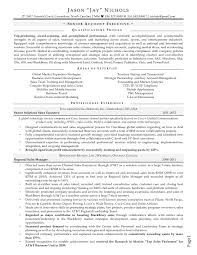 Jason Nichols Professional Resume