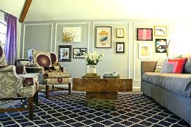 rugs credit to a innovative in living room eclectic with vintage trunk coffee table next picture