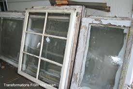 Old Window Transformations From The Heart Old Window Framecolorful New Addition
