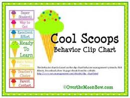 Clip Chart Behavior Management System Cool Scoops Behavior Clip Chart Behavior Clip Charts