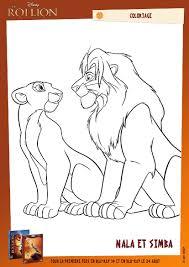 Coloriage Le Roi Lion Imprimer