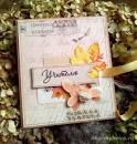 Листок для открытки