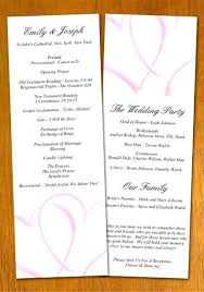 program template for wedding wedding program template wedding program template by wedding program