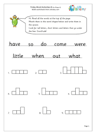 A collection of downloadable worksheets, exercises and activities to teach jolly phonics, shared by english language teachers. Tricky Word Activities 8 English Worksheet For Key Stage 1 Tricky Words Word Activities Words