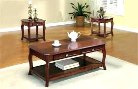 cherry wood coffee table sets coffee and side table set coffee table and end table set