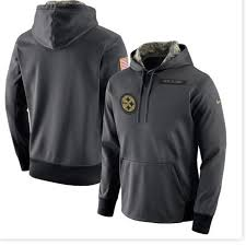 Steelers Salute Hoodie Xl Service To