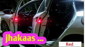 Destello <b>Wireless Car</b> Door LED Warning <b>Open</b> Lights Indicator ...