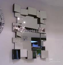 mr 201041 glass wall mirror decor with