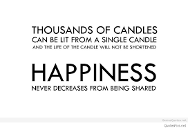 Candle Quotes Gorgeous Thousands Of Candles Can Be Lit From A Single Candle