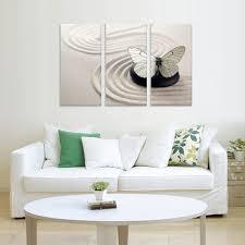 3 Stuks Vlinder Moderne Muur Canvas Schilderij Muur Foto Voor