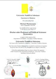 Degree Certificates Fake University Degrees College Diplomas Example