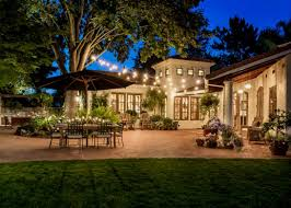 patio lights string ideas. How To Hang Outdoor String Lights Without Trees Patio Lighting Party Will Beautify Ideas