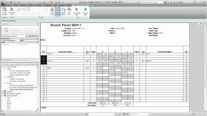 005 Siemens Panel Schedule Template Ideas For Electrical