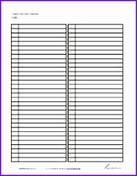 Printable Lined Paper For Lists Download Them Or Print