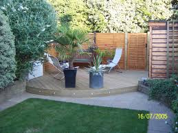 Small Picture Decking Designs For Small Gardens Small Backyard Deck Design Ideas