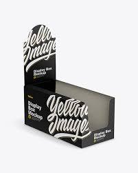 free product mockups display box packaging mockups free packaging mockup vectors