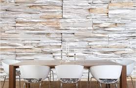 MULTIPLE TEXTURE STONE TILE WALLPAPER Mosaic Wallpaper www  ArtisticWallMurals com Source Some like it rough designbar