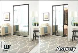 sliding closet door mirrors doors with mirror replacement parts roller c