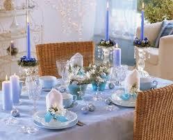 silver and blue christmas decor | adorable light blue christmas table  decorations 19 ideas