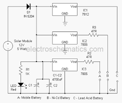 solar based multipurpose charger circuit