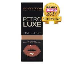 revolution retro luxe kits matte echelon klicke hier um ein größeres bild zu sehen