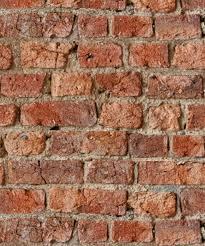 red rustic brick wall wallpaper