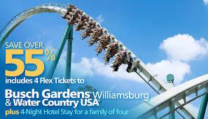 busch gardens deals. Busch Gardens Williamsburg Family-fun Getaway Deals