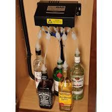 sidebar electronic beverage dispensing system underbar