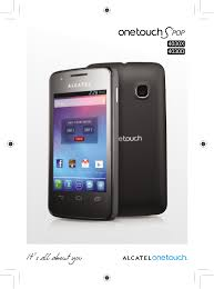 Alcatel One Touch S'Pop ...