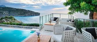 Infinity pools hotel Luxury Jumeirah Infinity Pool Bar Poolside Cocktails Jumeirah Port Soller