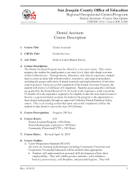 Resume For Dental Assistant Job Dental Assistant Duties For Resume Resume For Study 52