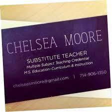 Substitute Teacher Business Cards Nkvh Card Template Fresh
