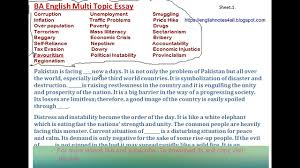 ba english multi topic essay lecture by shahid bhatti  ba english multi topic essay lecture by shahid bhatti